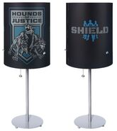 The Shield lamp