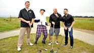 WrestleMania 31 golf tournament.9
