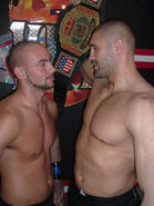 Fady vs Chris Steeler for IWF Heavyweight title