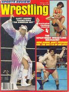 Sports Review Wrestling - February 1978