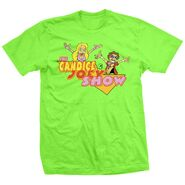 The Candice & Joey Ryan Show Cartoon T-Shirt