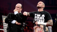 Cm punk and paul heymen