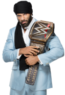 Jinder mahal wwe champion by nibble t-db8dtu5