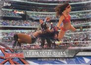 2017 WWE Road to WrestleMania Trading Cards (Topps) Team Total Divas 53