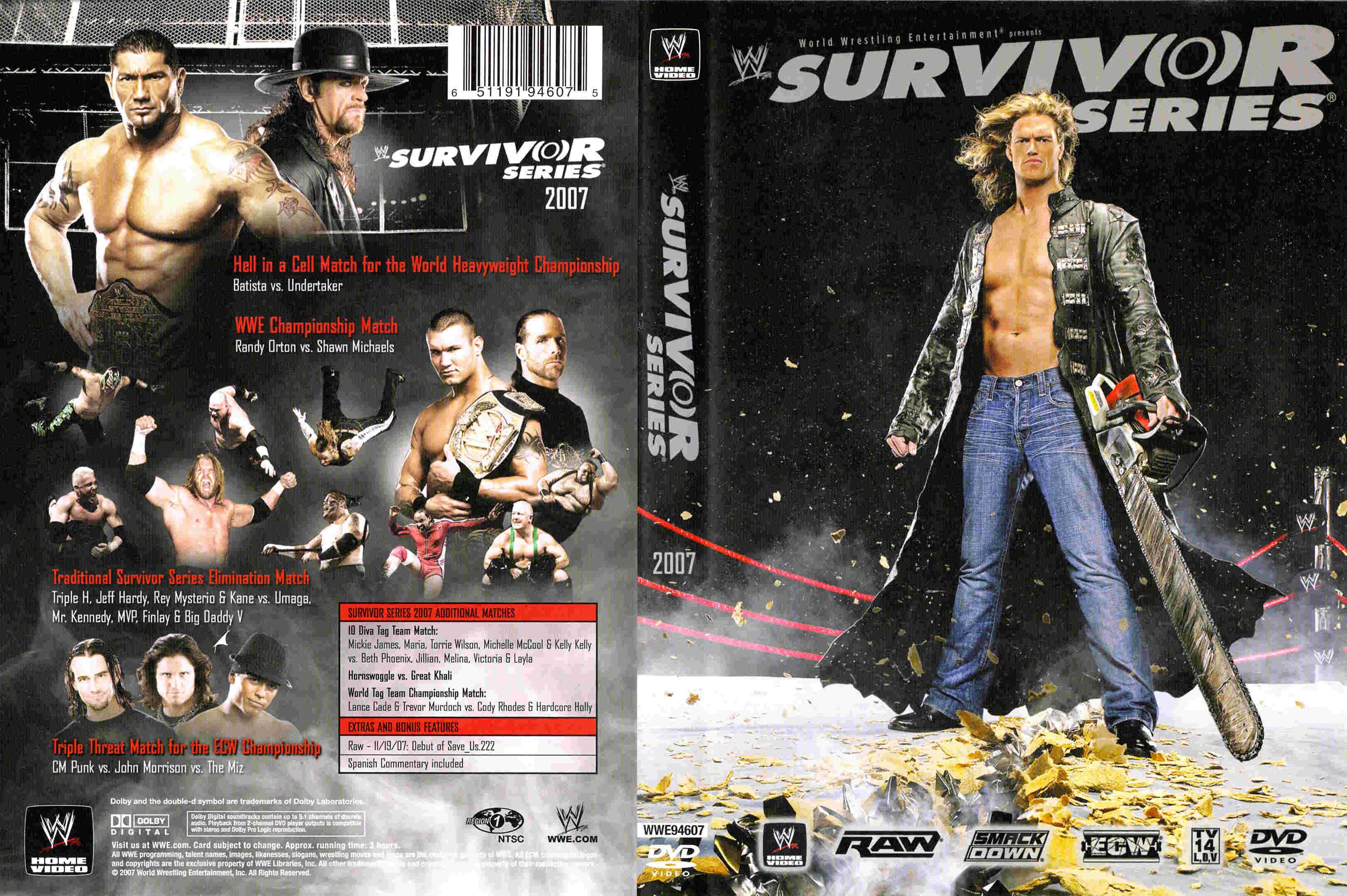 TJR Retro: WWE Survivor Series 2007 Review - TJR Wrestling