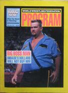 WWF Program Volume 181