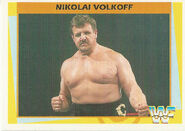 1995 WWF Wrestling Trading Cards (Merlin) Nikolai Volkoff 139