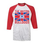 Davey Boy Smith Bulldog Baseball T-Shirt