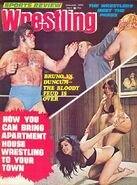 Sports Review Wrestling - January 1976
