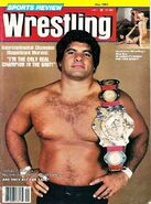 Sports Review Wrestling - May 1983