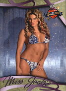 2004 WWE Divas 2005 (Fleer) Jackie Gayda 12