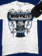 IMPACT WRESTLING Shirt & Hat Combo (White)