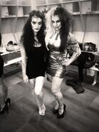 Paige and Raquel Diaz 2013 NXT Halloween