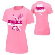 Kofi Kingston Rise Above Cancer Pink Women's T-Shirt