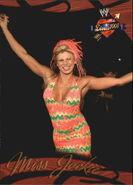 2004 WWE Divas 2005 (Fleer) Jackie Gayda 25