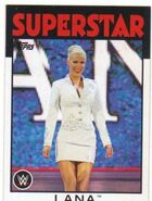 2016 WWE Heritage Wrestling Cards (Topps) Lana 46