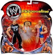 WWE Adrenaline Series 3 Brock Lesnar & Kurt Angle