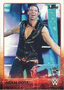 2015 WWE (Topps) Adam Rose 1