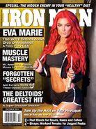 Eva Marie October 2014 Ironman Magazine