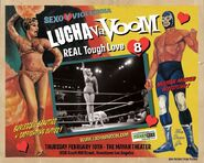 Lucha VaVoom Poster 8