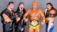 Survivor Series 1989 - Hogans team