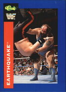 1991 WWF Classic Superstars Cards Earthquake 103