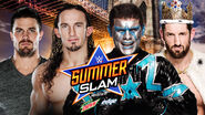 SS 15 Stephen Amell and Neville v Stardust and Wade Barrett