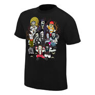 WWE Superstar Zombies T-Shirt