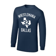 WrestleMania 32 Dallas, TX Youth Long Sleeve T-Shirt