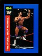 1991 WWF Classic Superstars Cards Rick Martel 150