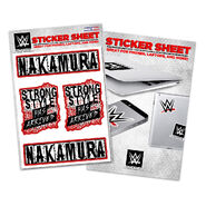 Shinsuke Nakamura Strong Style Has Arrived Sticker Sheet