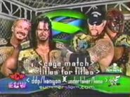 DDP and Chris Kanyon vs Brothers of Destruction