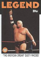 2016 WWE Heritage Wrestling Cards (Topps) Dusty Rhodes 72