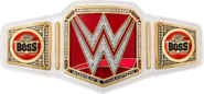 Sasha banks wwe women s championship sideplates by nibble t-dacynab