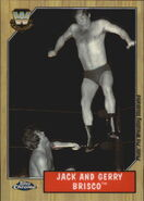 2008 WWE Heritage III Chrome Trading Cards Jack And Gerry Brisco 88