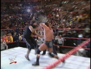 Royal Rumble 2000 HHH hit Foley with a Babred Wire