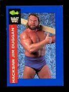 1991 WWF Classic Superstars Cards Hacksaw Jim Duggan 126