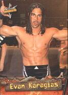 1999 WCW Embossed (Topps) Evan Karagias 46