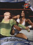 2004 WWE Divas 2005 (Fleer) Victoria 9