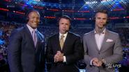 Michael Cole, Corey Graves & Byron Saxton - July 25, 2016 RAW