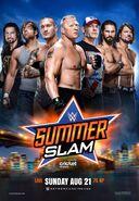 WWE SummerSlam 2016 Poster