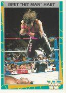 1995 WWF Wrestling Trading Cards (Merlin) Bret Hart 156