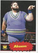2012 WWE Heritage Trading Cards Akeem 56