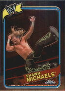 2008 WWE Heritage III Chrome Trading Cards Shawn Michaels 54