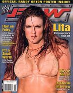 WWE Raw Magazine July 2004 Issue