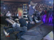 Royal Rumble 2000 Hardy legdrop