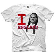 British Bulldog I Heart England T-Shirt