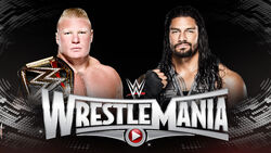 WM 31 Lesnar v Reigns
