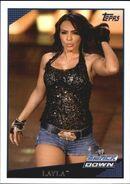 2009 WWE (Topps) Layla 16