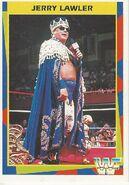 1995 WWF Wrestling Trading Cards (Merlin) Jerry Lawler 76